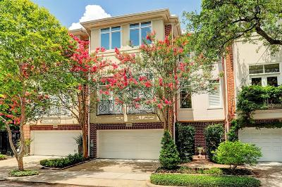 Houston Condo/Townhouse For Sale: 4804 Mount Vernon