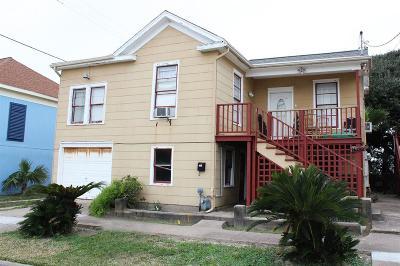 Galveston Single Family Home For Sale: 1411 14th Street