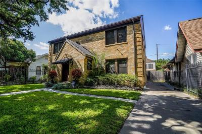Houston Single Family Home For Sale: 4309 Clay Street