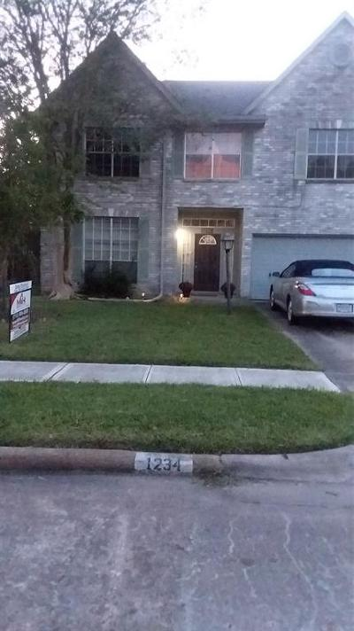 Missouri City Single Family Home For Sale: 1234 Birchstone