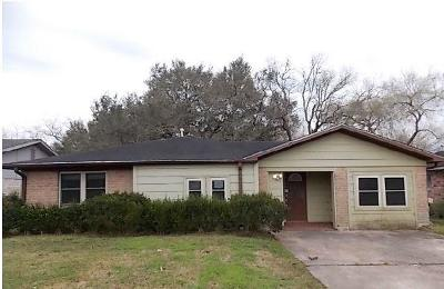 Alvin Single Family Home For Sale: 719 Stansel Drive