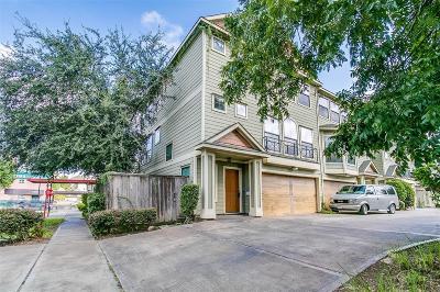 Houston Condo/Townhouse For Sale: 2003 Wichita Street