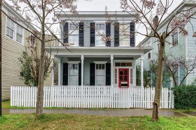 Galveston Single Family Home For Sale: 1405 Church Street