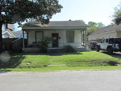 Galveston County, Harris County Single Family Home For Sale: 606 Cordell Street
