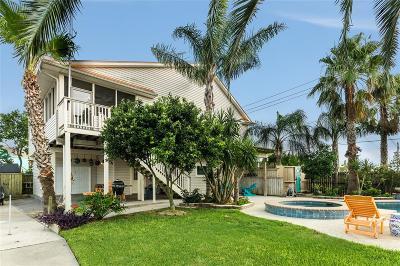 Galveston Single Family Home For Sale: 1518 103rd Street