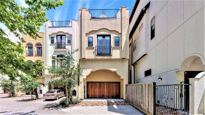 Houston Condo/Townhouse For Sale: 1819 W 24th Street