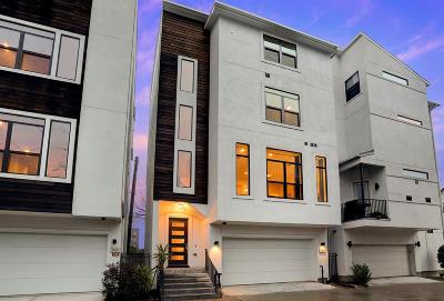 Houston TX Single Family Home For Sale: $592,000