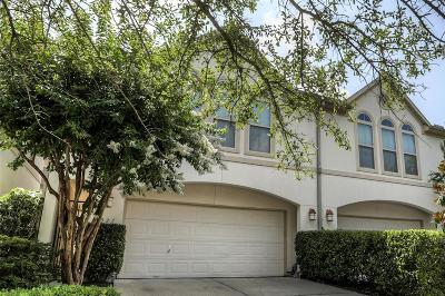 Harris County Condo/Townhouse For Sale: 1327 Afton Street