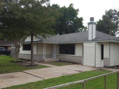 Houston Single Family Home For Sale: 13430 Melcher Drive