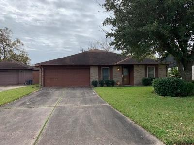 Texas City Single Family Home For Sale: 7501 Mallard Drive