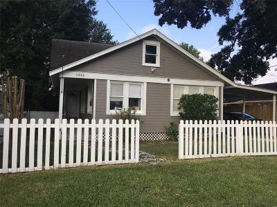 Houston Single Family Home For Sale: 1343 Laird Street