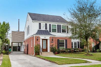 Houston Single Family Home For Sale: 2232 Shakespeare Street