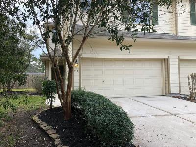 The Woodlands Condo/Townhouse For Sale: 115 Gallery Cove Court