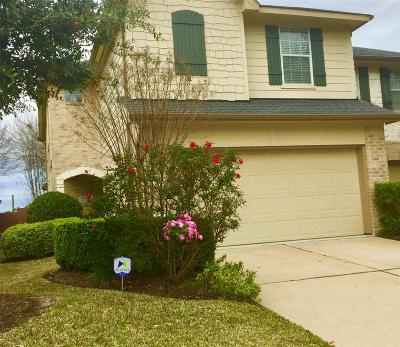 Cypress Condo/Townhouse For Sale: 14547 Gleaming Rose Drive