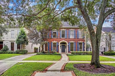 Houston Single Family Home For Sale: 2705 Talbott Street
