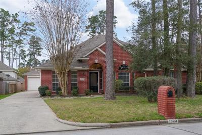 Tomball Single Family Home For Sale: 1323 Pine Trail