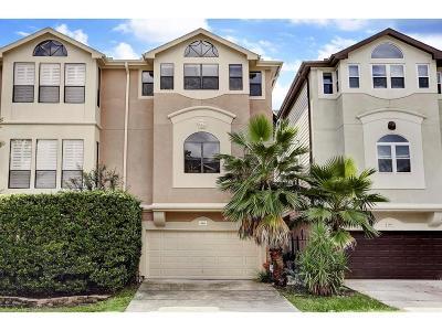 Houston Condo/Townhouse For Sale: 5505 Feagan Street
