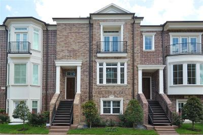 Kingwood Condo/Townhouse For Sale: 4610 Regent Manor Drive