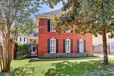 Houston Single Family Home For Sale: 2521 Southgate Boulevard