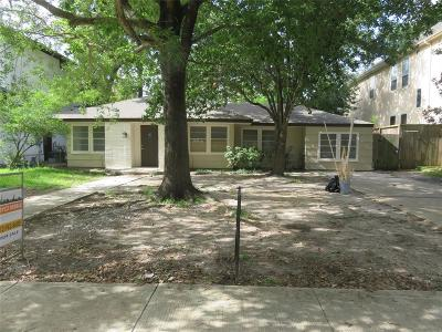 Bellaire Single Family Home For Sale: 5119 Patrick Henry Street