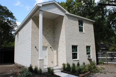Houston Single Family Home For Sale: 5621 Guadalupe Street