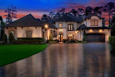 The Woodlands TX Single Family Home For Sale: $1,575,000