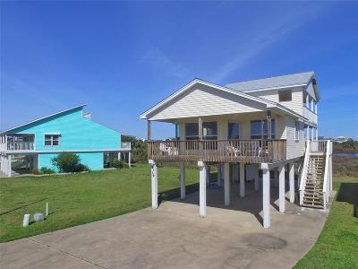 Galveston TX Single Family Home For Sale: $389,000
