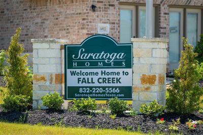 Fall Creek Single Family Home For Sale: 14506 Julie Meadows Lane