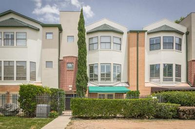 Houston Condo/Townhouse For Sale: 503 Detering Street