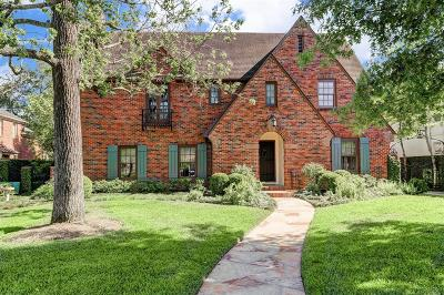 River Oaks Single Family Home For Sale: 2935 Chevy Chase Drive