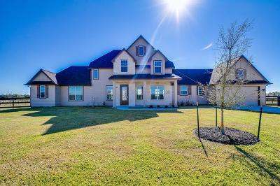 Alvin Single Family Home For Sale: 6811 Bayou Trail Drive