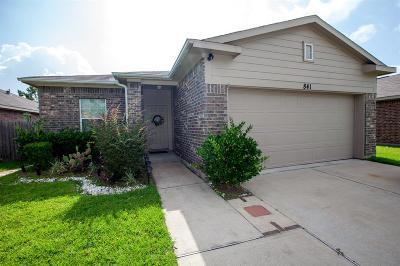La Marque Single Family Home For Sale: 841 Indigo Springs Lane