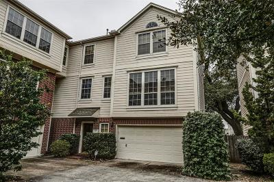Houston TX Condo/Townhouse For Sale: $349,900