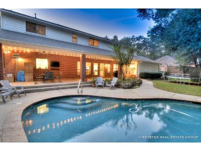 Conroe Single Family Home For Sale: 2312 Hollowbrook Lane