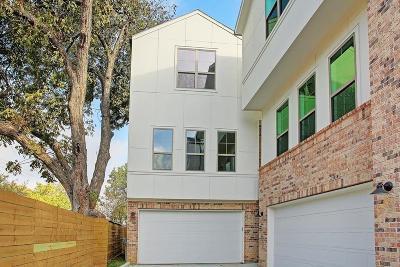 Houston Single Family Home For Sale: 4310 Koehler Street #C