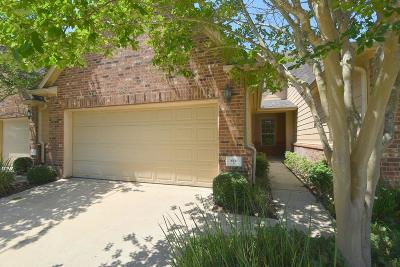 Sugar Land Condo/Townhouse For Sale: 8911 Silent Willow Lane