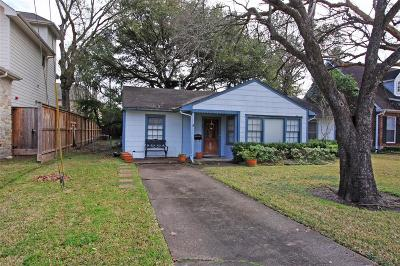 Bellaire Single Family Home For Sale: 7305 S Rice