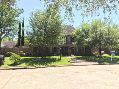 Houston Single Family Home For Sale: 15743 Foxgate Road Road