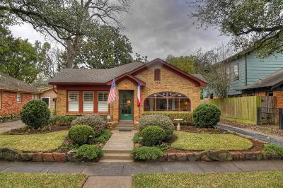 Houston Single Family Home For Sale: 819 Sledge Street