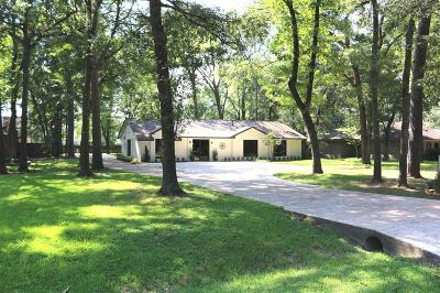 The Woodlands Single Family Home For Sale: 25819 Oak Ridge Drive