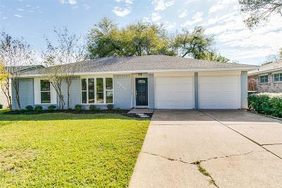 Houston Single Family Home For Sale: 9619 Windswept Lane