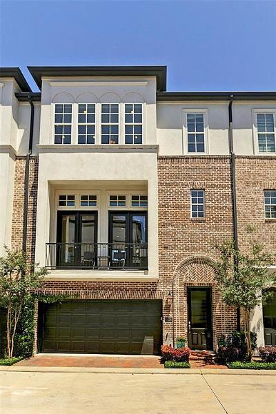 Houston Condo/Townhouse For Sale: 5628 Cohn Terrace