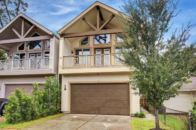 Houston Single Family Home For Sale: 1509 Nashua Street #A