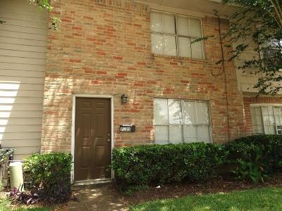 Houston Condo/Townhouse For Sale: 7823 Fuqua Street #7823