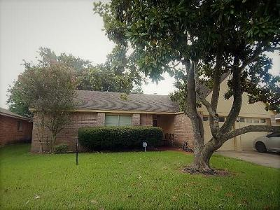 Houston TX Single Family Home For Sale: $179,500
