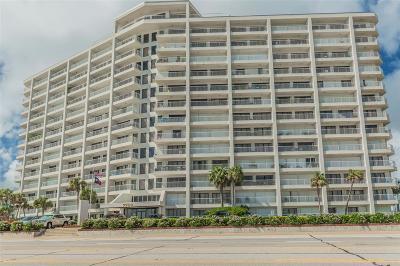 Galveston Mid/High-Rise For Sale: 7700 Seawall Boulevard #808