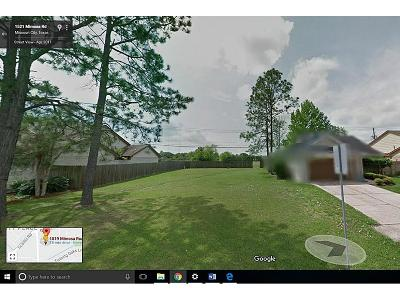 Missouri City Single Family Home For Sale: 1818 Ripple Creek Drive