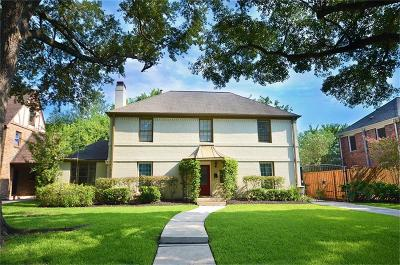 Houston Single Family Home For Sale: 2211 Maroneal Street