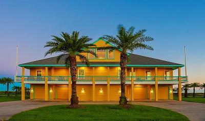 Crystal Beach Single Family Home For Sale: 680 Villa Drive