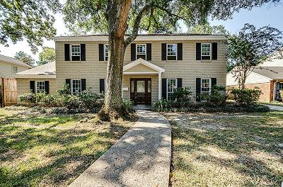 Houston Single Family Home For Sale: 14351 Carolcrest Drive